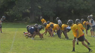 Central High School football team looking to build off of last year's success.