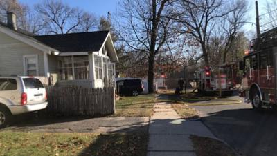 Four displaced after fire tears through Springfield home