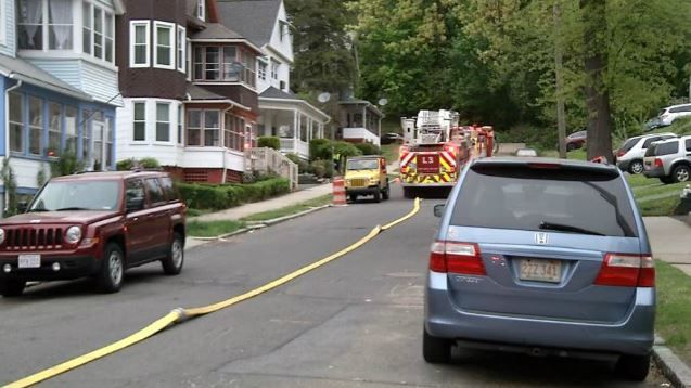 Springfield firefighters called to Palmer Ave. Saturday morning