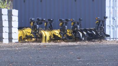 Snow plows prep for winter 110819