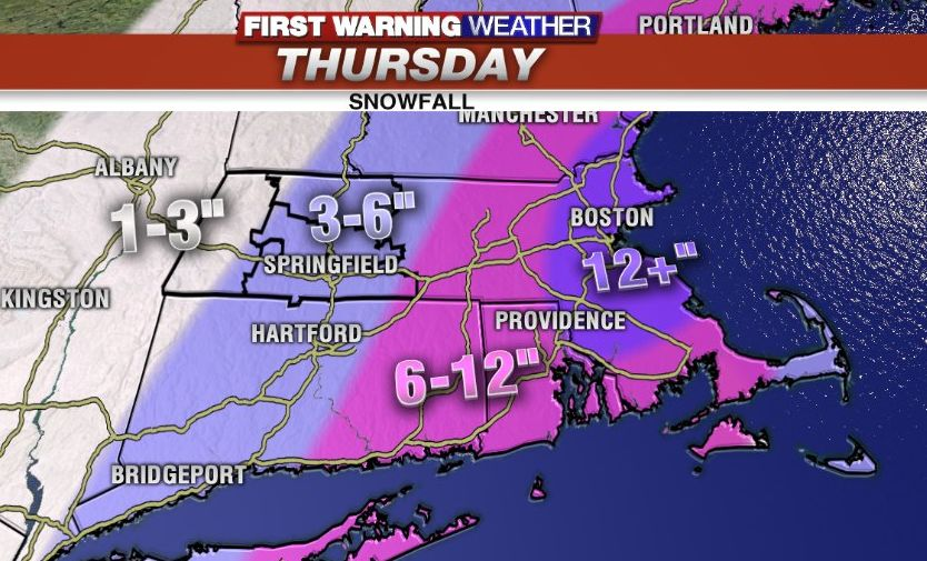 Major Nor'easter set to bring snow and wind to western Mass