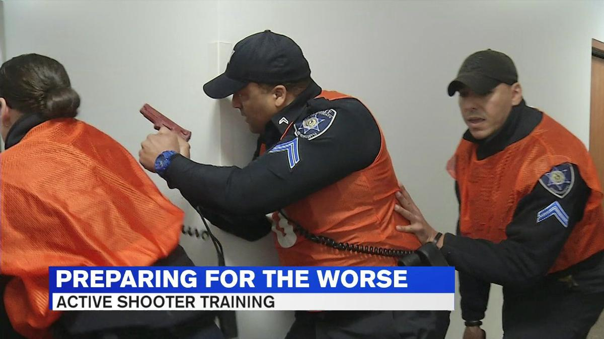 Hampden Co. Sheriff's Dept participates in active shooter training