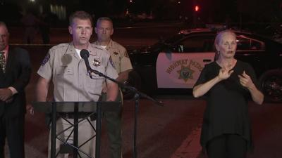One officer was killed and two others were injured in a shootout in California