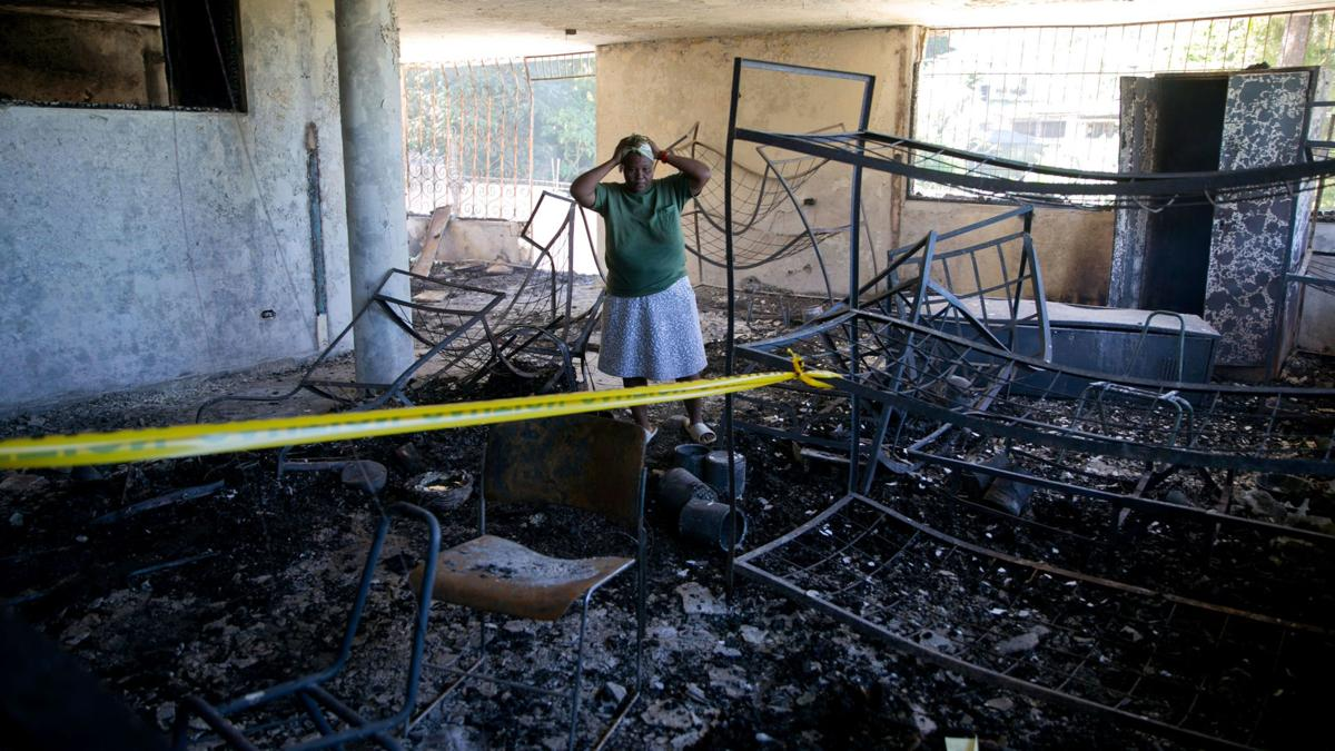 15 children were killed in a fire at a Haiti orphanage run by a US Christian group