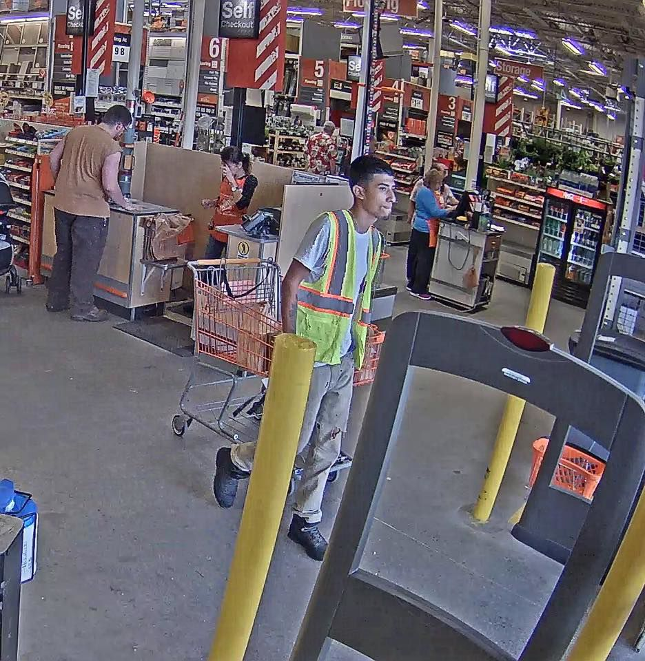 Monson Police Look For Suspect In Home Depot Fraud Case News