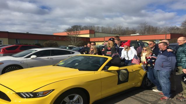 Westfield welcomes home Olympic gold medalist Kacey Bellamy