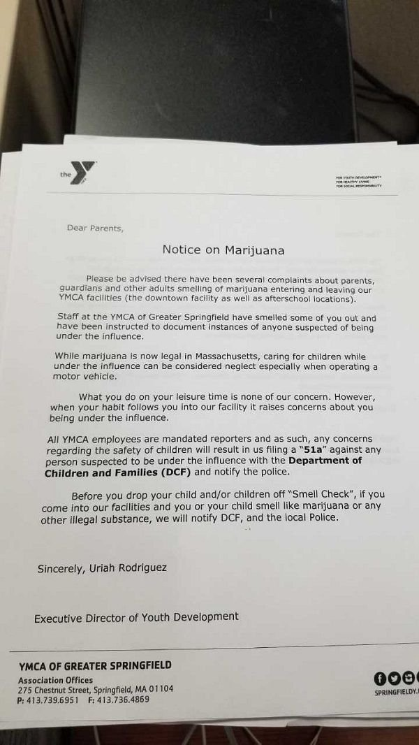 YMCA STATEMENT 1