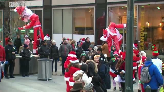 Christmas comes early to NYC with SantaCon
