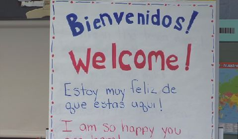 West Springfield offers bilingual class for Puerto Rican evacuees