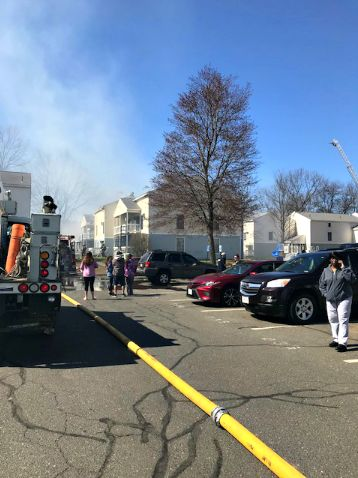 Working fire reported at Powdermill Village in Westfield