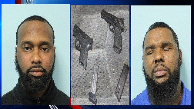 Springfield PD: 2 arrested for carrying firearms without a license