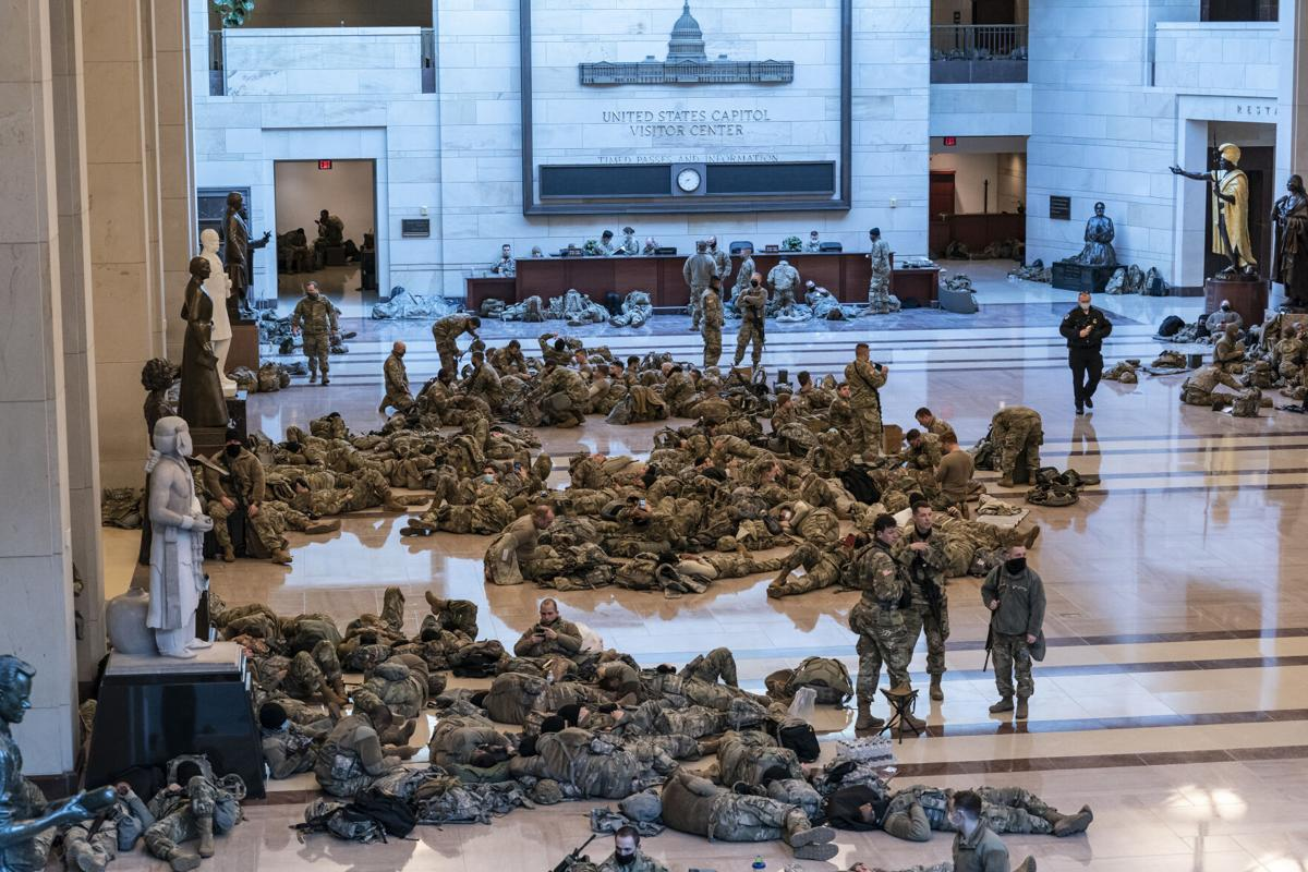 National Guard at Capitol
