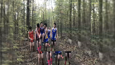Cross country teams show sportsmanship on the course