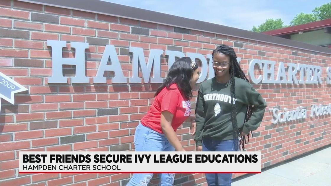 Two high school seniors earn  million in scholarships to Ivy League