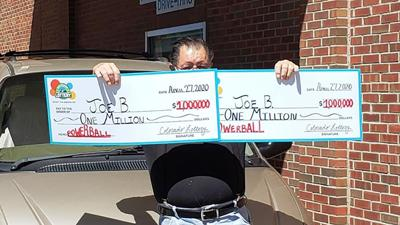 Man hits Powerball jackpot twice in the same day, after playing the exact same numbers for 30 years