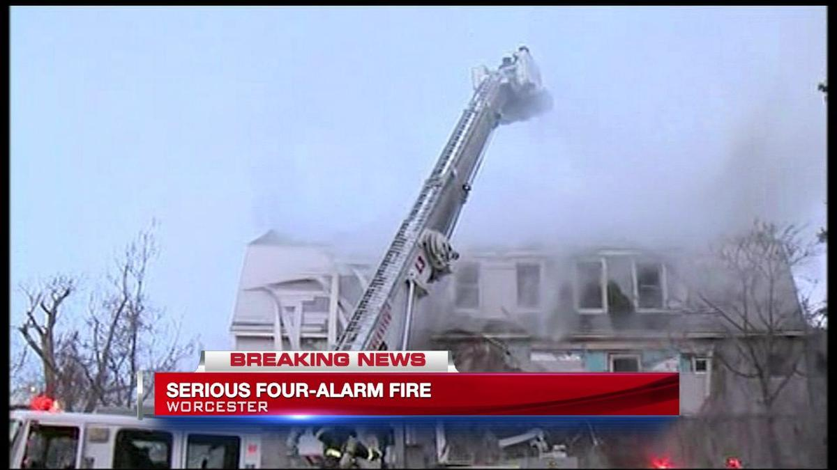 5-Alarm fire in Worcester claims the life of a firefighter