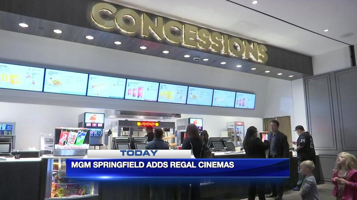Regal CInemas set to open in MGM Springfield.