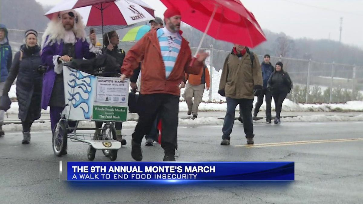 Monte's March underway to help end food insecurity