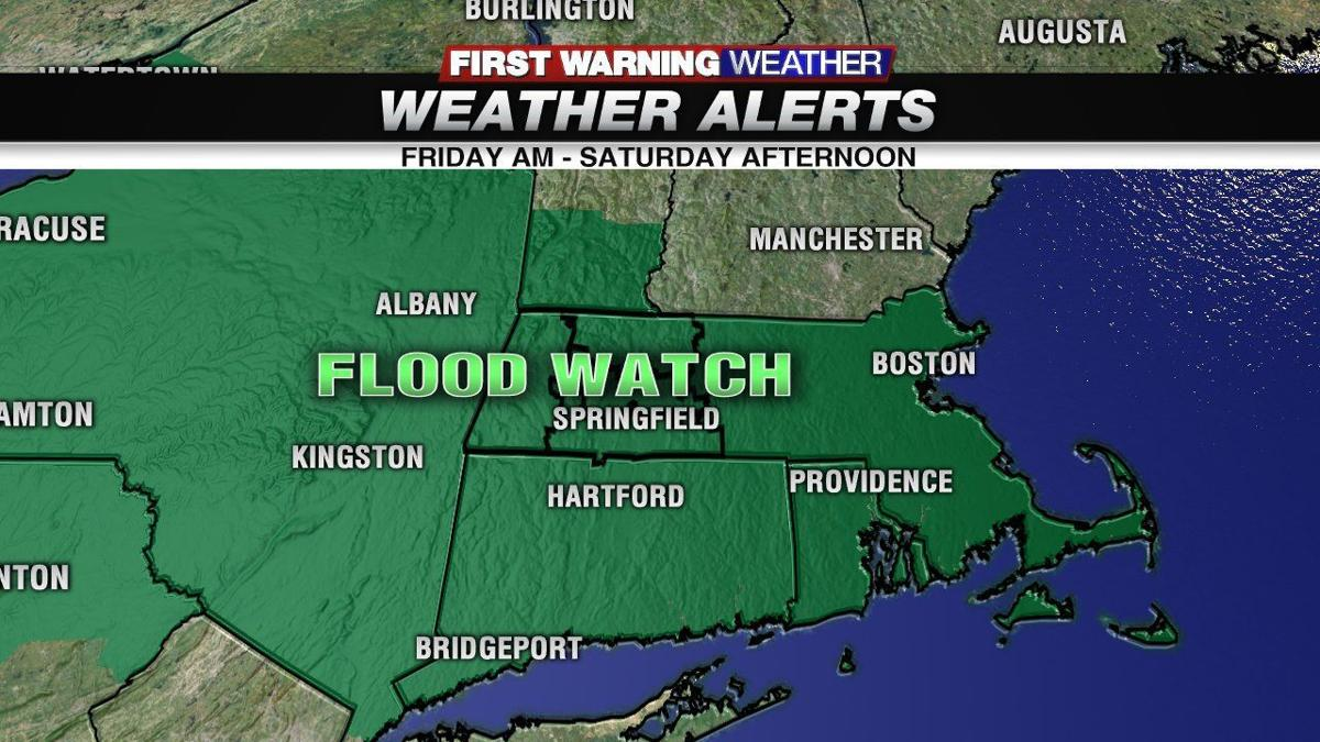 A flood threat Friday shifts to ice threat Saturday
