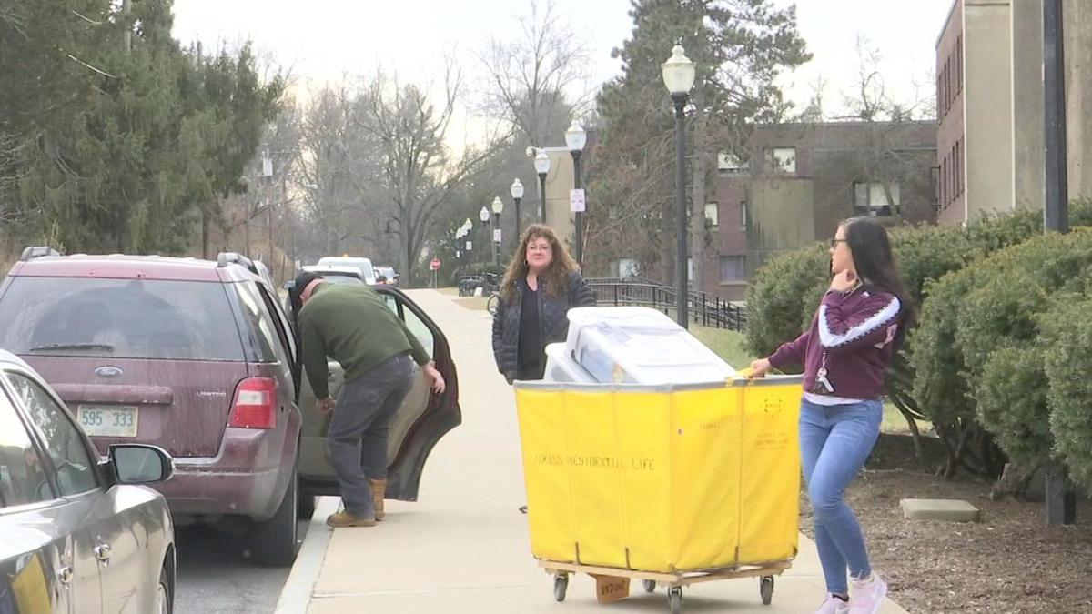 UMass students encouraged to move in early ahead of weekend snow storm