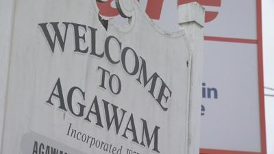 Town of Agawam sign 062019
