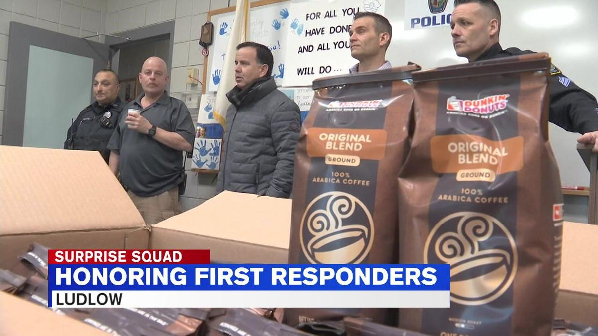 Surprise Squad helps honor first responders in Ludlow