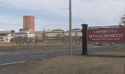 UMass Amherst sign - generic 2018