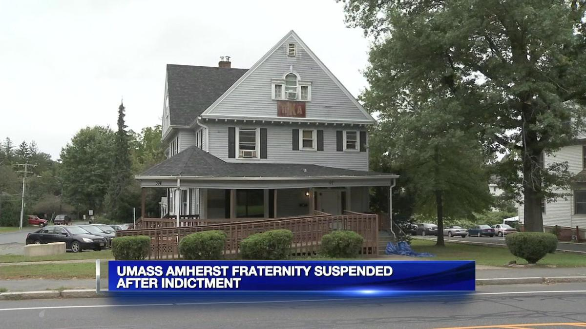 UMass fraternity facing hazing, alcohol charges