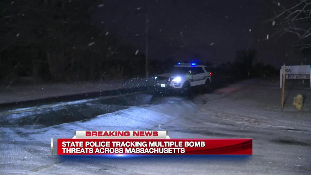 Bomb threats emailed to several western Mass. locations