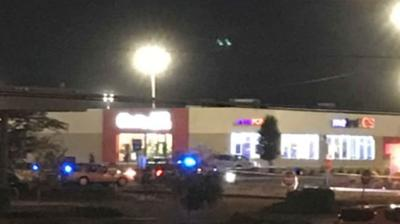 Officials on scene of an active investigation at the Stop & Shop on Liberty St. in Springfield.