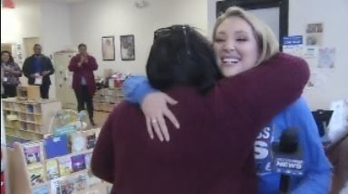 Surprise Squad gives back to mom for all she does for her community.