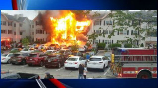Almost 70 people displaced in 3 apartment fires