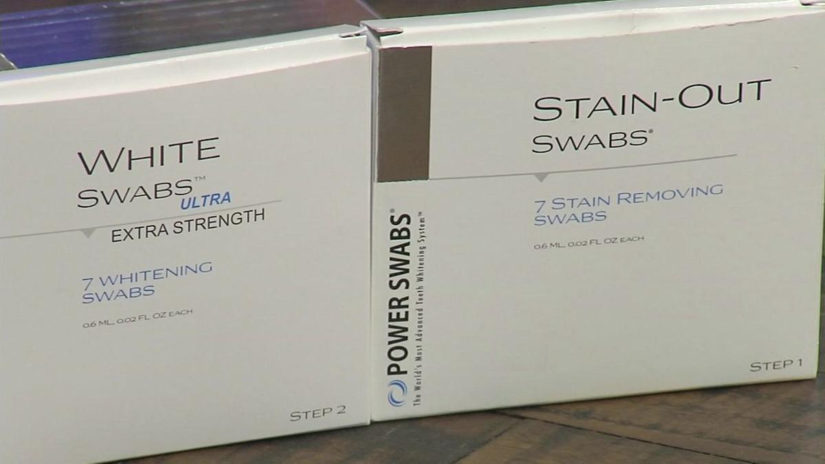 New swabs offer quick, easy way to whiter teeth