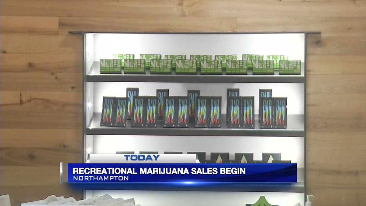 Recreational marijuana sales get underway