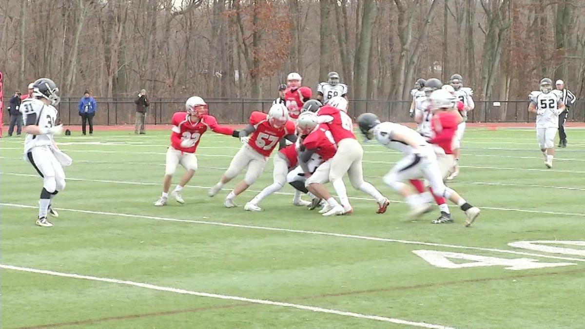High school football teams preparing for frigid Thanksgiving preps