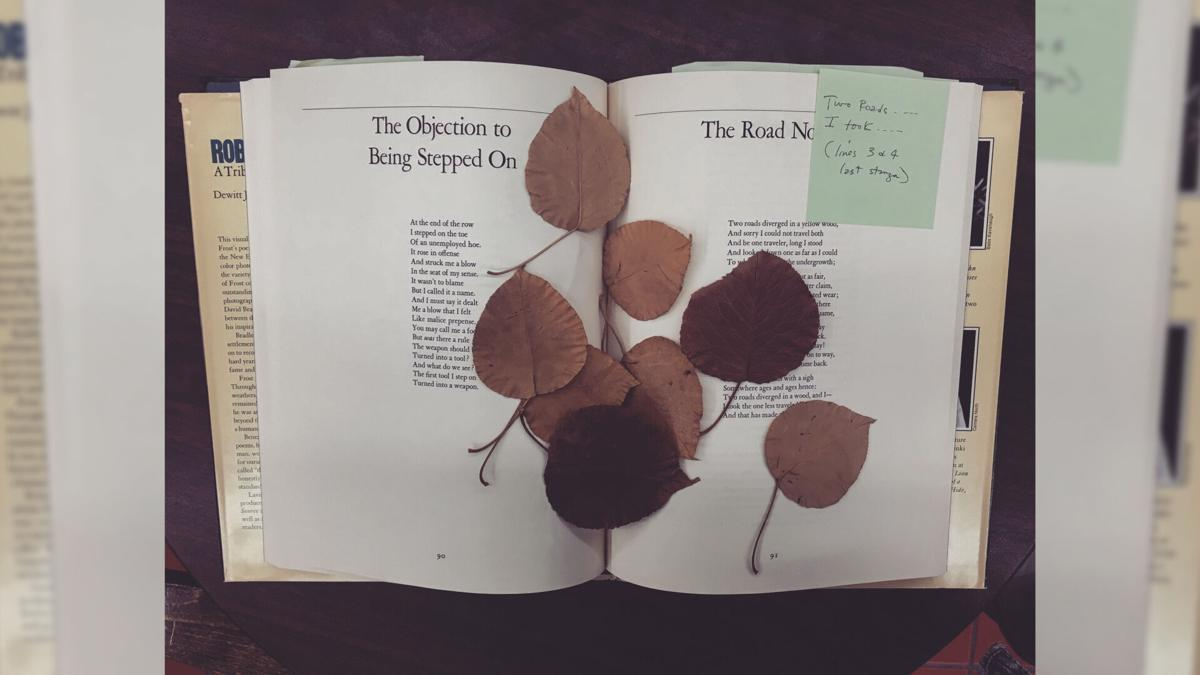 This teacher searches for forgotten mementoes left between the pages of used books -- and helps return the memories