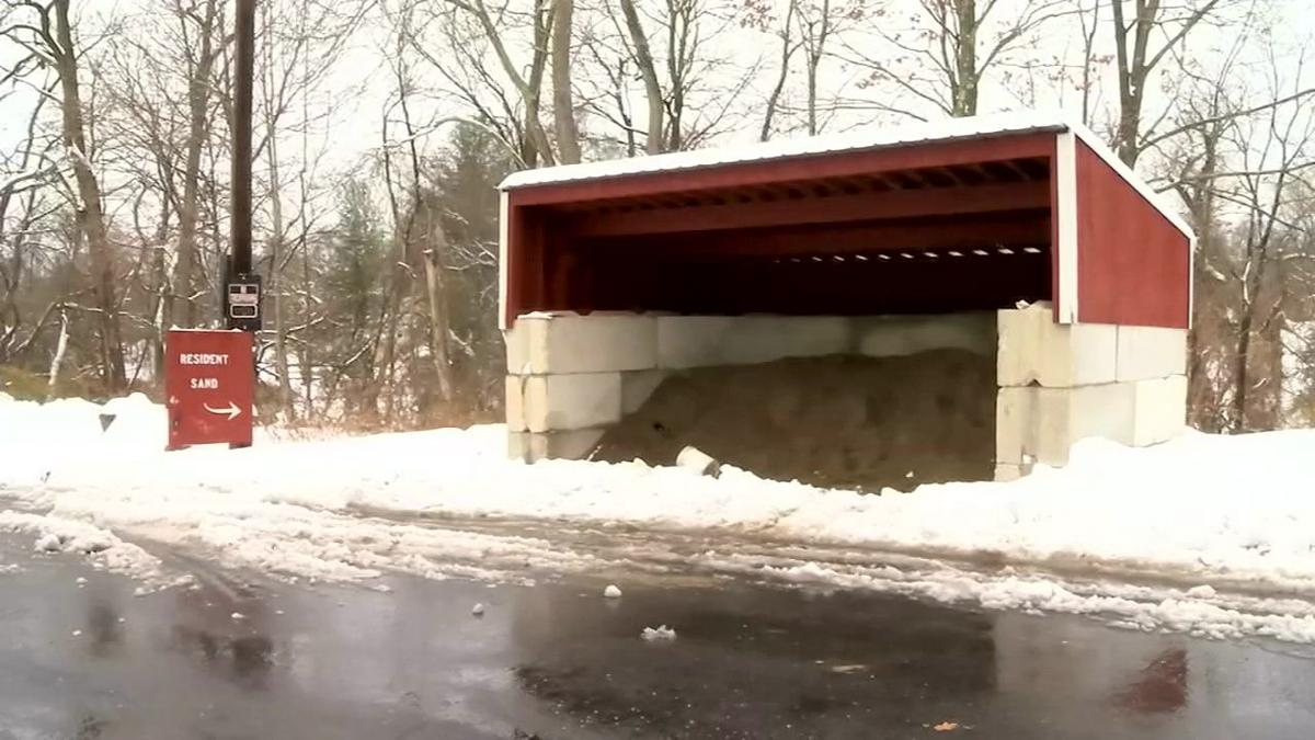 WMass communities cleaning up from season's first snow