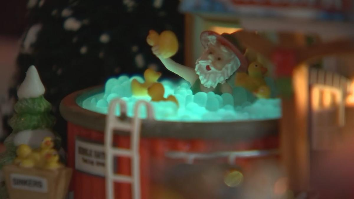VIDEO: Mesa family's holiday display warms hearts