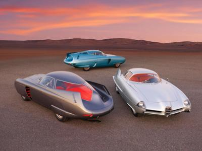 These futuristic concept cars from the 1950s are up for auction with a $20 million estimate