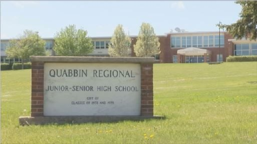 Officials: loaded gun clip found at Barre school field