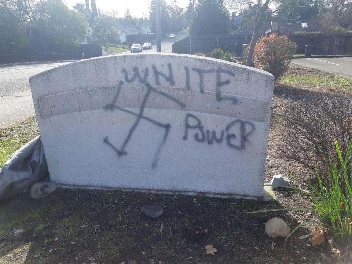 Newly-opened Sikh temple property is vandalized with swastikas and graffiti