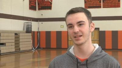Agawam volleyball player fighting battles on and off the court