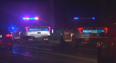 Florence Rd. woman struck police scene investigation