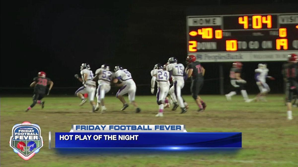 Friday Football Fever 10/19 - Week 7 'Hot Play of the Night'