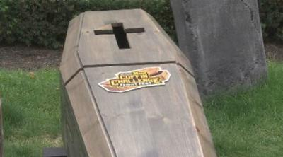 Coffin Challenge at Six Flags 2019