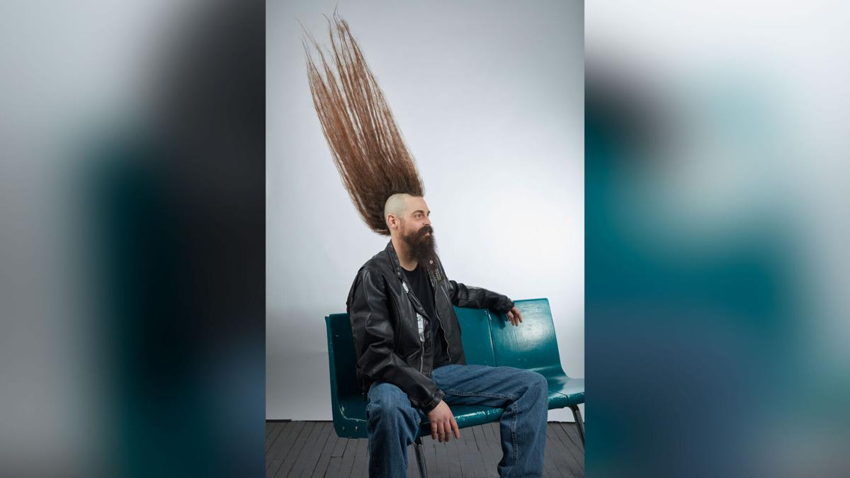 There is a new world record for tallest mohawk and it's a hair raising accomplishment