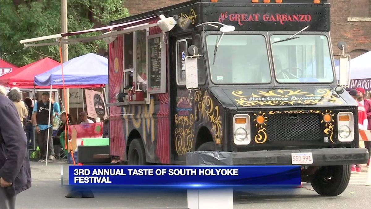 Huge turnout for third-annual Taste of South Holyoke festival.