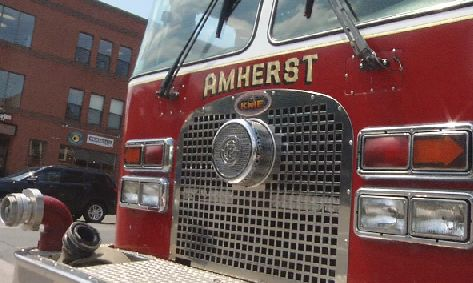 Abandoned camp fire caused large brush fire in Amherst