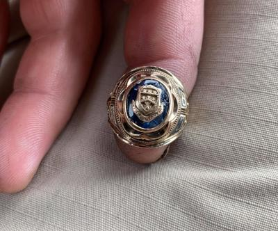 Treasure hunter finds class ring missing for nearly 60 years, returns it to owner