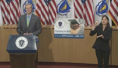 Gov. Baker announces new initiatives, postponement of Step 2 of Phase III